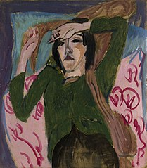 Woman in a Green Jacket