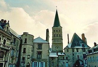 La Charité-sur-Loire - Sainte-Croix-Notre-Dame in La Charité-sur-Loire