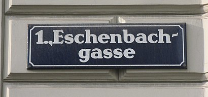 How to get to Eschenbachgasse with public transit - About the place