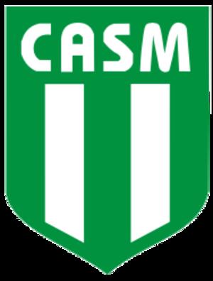 Club Atlético San Miguel - Image: Escudo C.A.S.M
