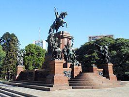 Monumento al General San Martín y a los Ejércitos de la Independencia