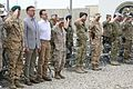 Estonian soldiers bid farewell to coalition counterparts in Helmand province 140509-M-KC435-007.jpg