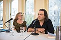European Voices A Reading & Conversation with Christos Ikonomou and Karen Emmerich (26500030691).jpg