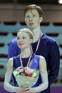 Vladimir Morozov (figure skater) Russian pair skater