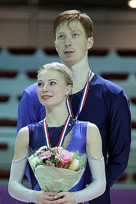 Evgenia Tarasova and Vladimir Morozov at 2016-17 GP Final 2.jpg