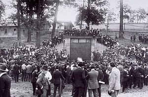 Bruceton, Pennsylvania - Dedication of the Experimental Mine, 1910