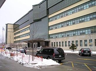 Marc Lépine - Exterior of École Polytechnique de Montréal