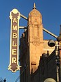Exterior sign for the Ambler Theater in Ambler Pennsylvania.jpg