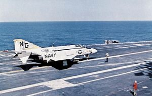 F-4J VF-92 on USS Constellation (CVA-64) c1972.jpg