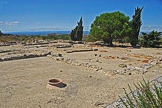 Oppidum d'Ensérune - View the Oppidum