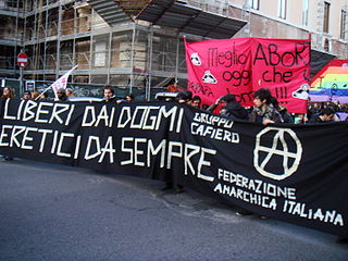 anarchist federation of Italy
