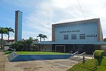 c4ef64c62e15b Fachada do Teatro Zélia Olguin, que está localizado no Cariru e foi  inaugurado em 1994.