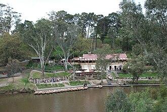Main Yarra Trail - Fairfield boathouse