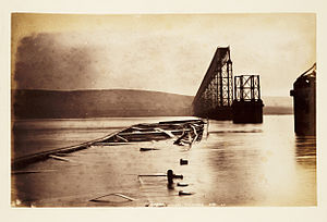 Tay Bridge disaster - Fallen girders, Tay Bridge