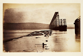 Tay Bridge disaster - Fallen girders, Tay Bridge