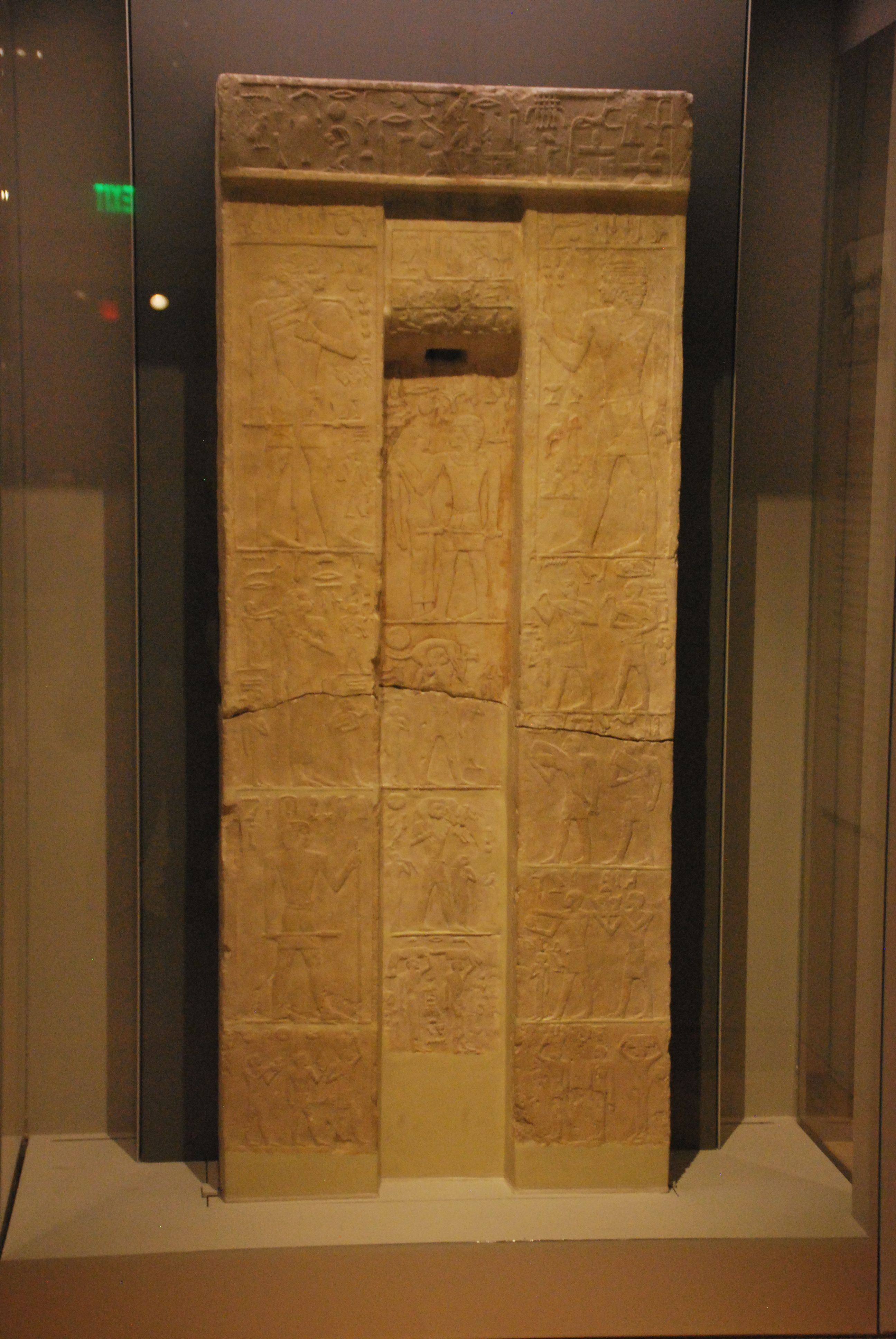 File:False Door Stele Of Senwehem