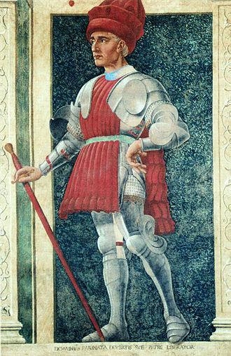 Nobility of Italy - Image: Farinata