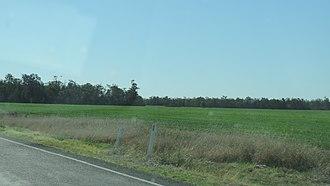 Moonie, Queensland - Farm land, Moonie, 2016