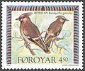 Faroe stamp 290 waxwing (bombycilla garrulus).jpg