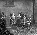 Farriers at Waterford cavalry barracks Ireland 1909 (6810993267).jpg
