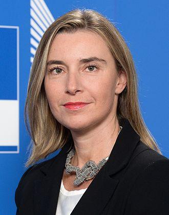 European Commissioner - Image: Federica Mogherini Official