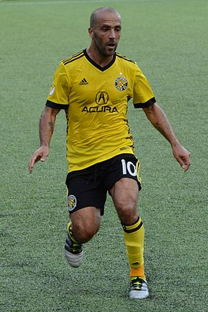 Federico Higuaín - Higuaín with Columbus Crew in 2017