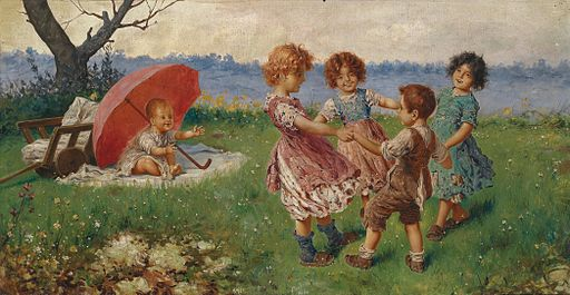 Federico Oliva Spielende Kinder