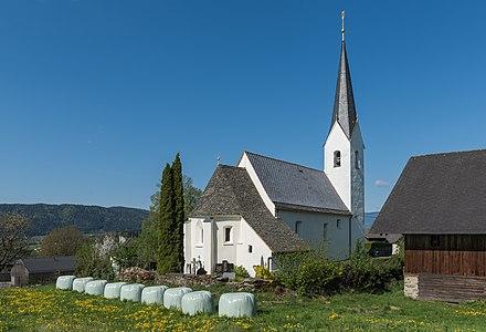 Parish church Saint Vitus (and Saint Martin) in Klein St. Veit, Feldkirchen, Carinthia, Austria