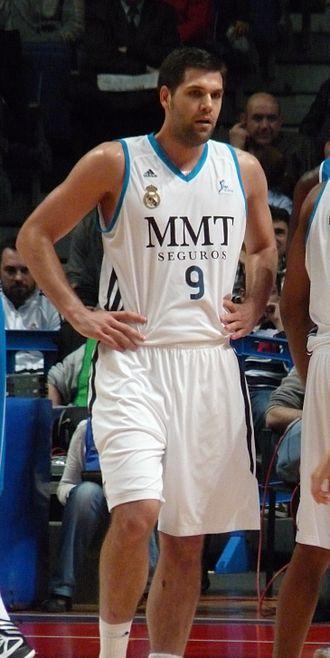 Felipe Reyes - Reyes with Real Madrid, in 2013.