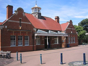 Felixstowe - The old railway station