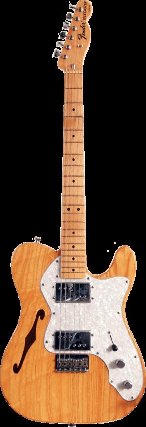 Fender Telecaster Thinline - Image: Fender 72 Telecaster Thinline