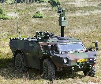 Fennek - Royal Netherlands Army Fennek