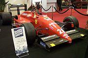 Ferrari, 1987, von Gerhard Berger