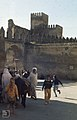 Fes. Ancient walls of the kings palace. April 1972. Masses of little swifts flying over (37086347903).jpg