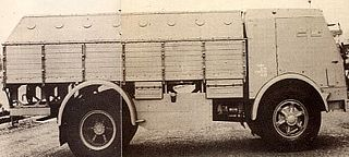 Fiat 665NM protetto Type of Armored personnel carrier