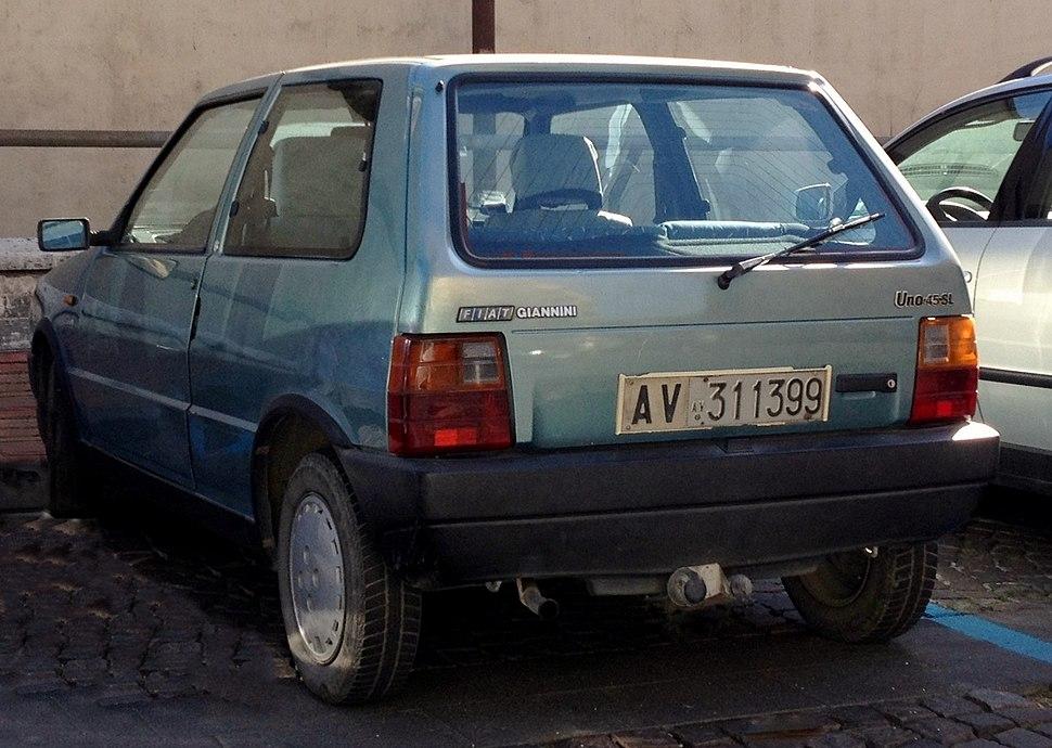 Fiat Uno Giannini 45 SL