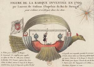 Bartolomeu de Gusmão - Passarola, Bartolomeu de Gusmão's airship