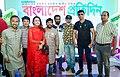 Film director Bulbul Bishwas, Borhan Khan, Actor Zayed Khan, Bipasha Kabir, Mahbub, Harun Rashid and others.jpg