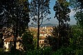 Firenze - Florence - Giardino Bardini - View NW towards the Synagogue & Basilica di Santa Croce.jpg