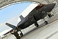 First F-35B Lightning II arrives at MCAS Beaufort 140717-M-UU619-754.jpg