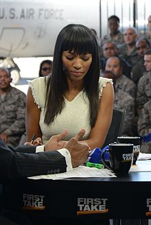 First Take Salute the Troops broadcast (cropped).jpg