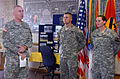 First Team commanding general reenlists Soldiers DVIDS120381.jpg