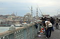 Fishermen on Galata Bridge.JPG