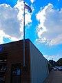 Flag in Memorial for Merlin J. Meade - panoramio.jpg