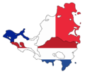Flag map of Saint Martin & Sint Maarten (France and The Netherlands).png