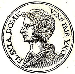 "Domitilla the Elder - Domitilla from ""Promptuarii Iconum Insigniorum"""