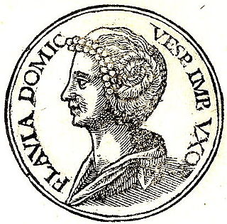 Domitilla the Elder Wife of the Roman Emperor Vespasian