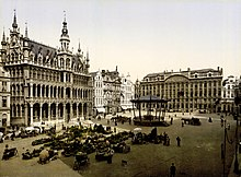 Flickr - …trialsanderrors - La Grand-Place, Brussels, Belgium, ca. 1895.jpg