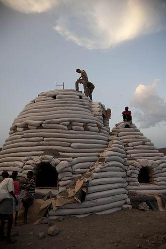Nader Khalili - Image: Flickr DVIDSHUB New eco dome signals changes for local village (Image 10 of 10)