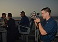 Flickr - Official U.S. Navy Imagery - An Officer uses a sextant..jpg